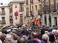 Banda, la calle llena, Coronación de la Virgen de la Estrella, Toledo, España, 2015.JPG