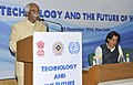 Bandaru Dattatreya addressing at the Special event on Technology and the Future of Work, organised by the Ministry of Labour and Employment, joint ILO and VVGNLI, in New Delhi.jpg