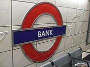 Bank station Central roundel