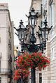 Barcelona - Urlaub 2014 - Straßenlaternen Platz de Sant Jaume 002.jpg