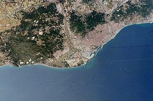 Barcelona ISS009-E-9987
