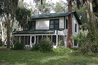 Ma Barker - Image: Barker Cottage on Lake Weir in Florida