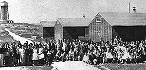 Minidoka National Historic Site - Japanese-American internees in Idaho at the Minidoka War Relocation Center