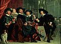 Bartholomeus van der Helst - De bestuursleden van de schutterscompagnie van St-Sebastiaan te Amsterdam.jpg