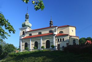 Bartošovice - Church of Saint Andrew and Saints Peter and Paul