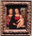 Bartolomeo ramenghi il vecchio detto bagnacavallo (attr.), madonna col bambino e s. agnese, bologna, xvi sec.JPG