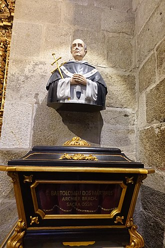 Bartholomew of Braga - Tomb in Braga.