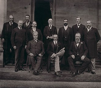 Edmund Barton - Members of the first Barton Ministry, 1 January 1901