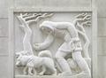Bas-relief sculpture, Robert N.C. Nix Federal Building, Philadelphia, Pennsylvania LCCN2010718950.tif