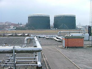 Nottingham Corporation Gas Department - Basford Gas Works.