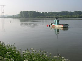The River Loire at Basse-Indre