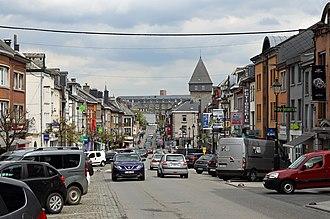 Bastogne - Image: Bastogne Rue du Sablon R01