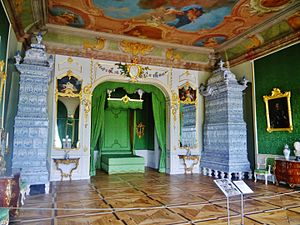 Rundāle Palace - Duke's sleeping chambers