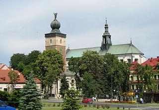 Miechów Place in Lesser Poland Voivodeship, Poland