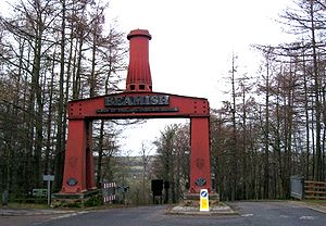 Beamish, County Durham - The entrance to Beamish Museum.