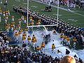 Bears take the field at OSU at Cal 2009-11-07.JPG