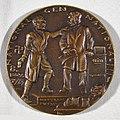 Beer Hall Putsch (Hitlerputsch) medal by Karl Goetz, 1923, obverse.jpg
