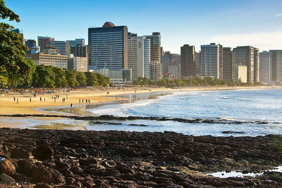 Beira-mar em Fortaleza
