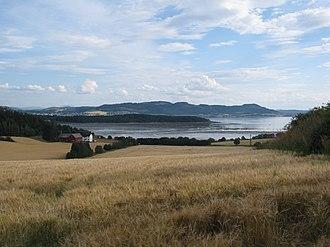 Beitstadfjorden - View of the Beitstadfjorden