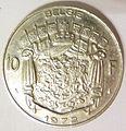 Belgian coin of 10 francs Boudewijn I in Dutch.jpg