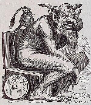 Belphegor - Belphegor illustration from the Dictionnaire Infernal
