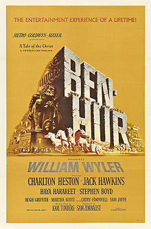 Description de l'image Ben hur 1959 poster.jpg.