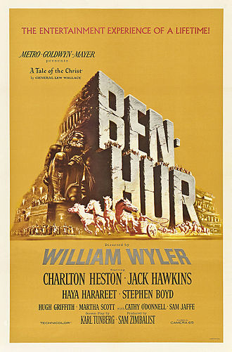 Ben-Hur (1959 film) - Original theatrical poster by Reynold Brown