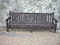 Bench on seafront walk dedicated to Captain A.M Williams RN 1892-1984 - geograph.org.uk - 1404869.jpg
