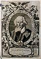Benedictus Silvaticus. Line engraving by J. Georg, 1656. Wellcome V0005440.jpg
