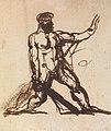 Benjamin Robert Haydon - Study of a Nude Male - B1977.14.2677 - Yale Center for British Art.jpg