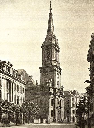 Parochialkirche - The Parochialkirche in 1896
