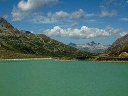 Bernina Pass (& Lago Bianco)
