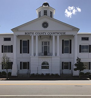 Bertie County Courthouse in Windsor