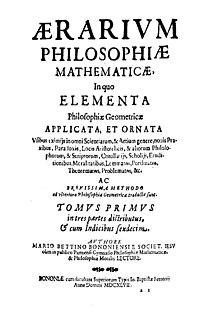 Aerarium philosophiae mathematicae, 1647