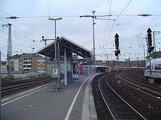Düsseldorf Volksgarten station railway station in Düsseldorf, Germany