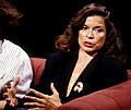 Bianca Jagger appearing on 'After Dark', 6 August 1988.jpg