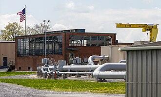 Big Inch - Pumping station building near Chambersburg, Pennsylvania, in 2014