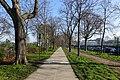 Bike lane, Avenue du Maréchal-Franchet-d'Espérey, Paris 25 March 2017.jpg