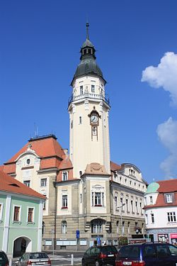 Bilina town hall, Czech Republic.jpg