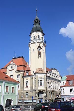 Bílina - Bílina town hall
