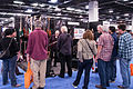 Bill Clements demos his Regenerate Guitar Works signature bass 2 - 2014 NAMM Show.jpg