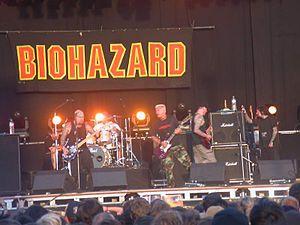 Biohazard (band) - Biohazard at the Dour Festival, 2003.