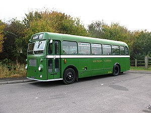 Southern National - Preserved Bristol SUL4A in October 2009