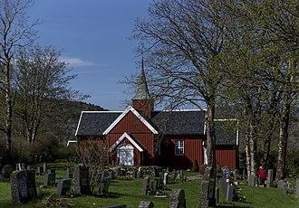 Bjugn Church - Bjugn Church Cemetery