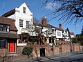Black Swan public house on Southern Lane, Stratford-upon-Avon, Warwickshire.jpg