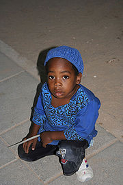 A child of the community, in Dimona, September 2005.