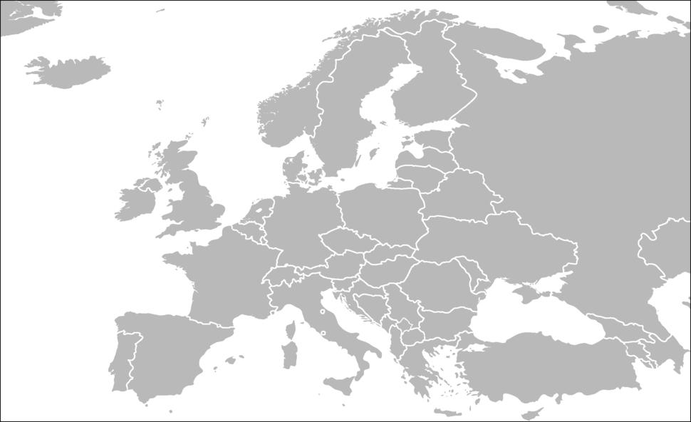 BlankMap-Europe2