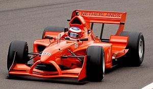 Jeroen Bleekemolen - Bleekemolen driving for A1 Team Netherlands in the 2006–07 season at Zandvoort.