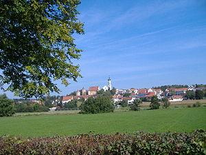 Bissingen, Bavaria - Image: Blick Bissingen