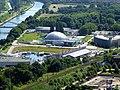 Blick vom Gasometer Oberhausen auf - Modellbahnwelt Oberhausen - AQUApark Oberhausen - SeaLife Oberhausen - Centro-Park - Heinz-Schleußer-Marina. - panoramio.jpg